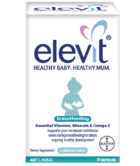 ELEVIT Breastfeeding Multivitamin 60 Capsules