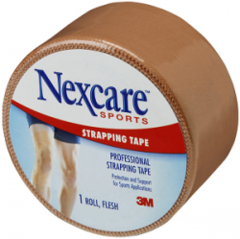 Nexcare - Sports Strapping Tape 38mm x 13.7m - Flesh
