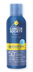 NZ Cancer Society SPF50+ Everyday Aerosol 175gm