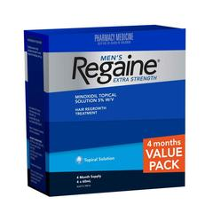Regaine Extra Strength 4 Months Supply 60ml value pack