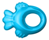 Nuk Cooling Teether STAGE 1 - Fish -Blue or Pink