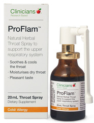 Clinicians ProFlam Throat Spray 20ml