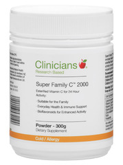 Clinicians Super Family C 2000 Powder 300g