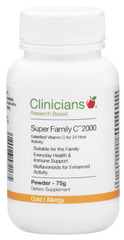 Clinicians Super Family C 2000 Powder 75g