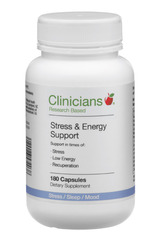 Clinicians Stress & Energy Support 180 capsules