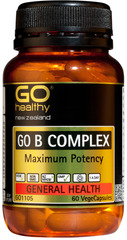 Go Healthy B Complex 60 capsules