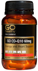 Go Healthy GO CO-Q10 60mg 60 capsules
