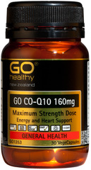 Go Healthy GO CO-Q10 160mg 30 capsules