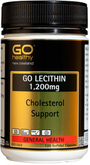 Go Healthy GO LECITHIN 1200mg 120 capsules