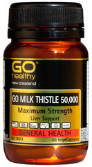 Go Healthy GO MILK THISTLE 50,000 30 capsules