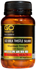 Go Healthy GO MILK THISTLE 50,000 60 capsules