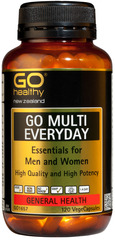 Go Healthy GO MULTI EVERYDAY 120 capsules