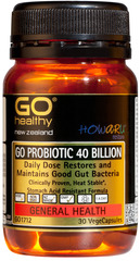 Go Healthy GO PROBIOTIC 40 BILLION 30 capsules