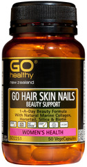 Go Healthy GO HAIR SKIN NAILS BEAUTY SUPPORT 50 capsules