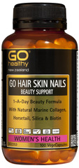 Go Healthy GO HAIR SKIN NAILS BEAUTY SUPPORT 100 capsules