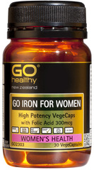 Go Healthy GO IRON FOR WOMEN 30 capsules