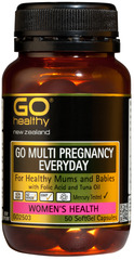 Go Healthy GO MULTI PREGNANCY EVERYDAY 50 capsules