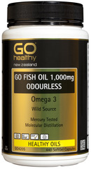 Go Healthy GO FISH OIL 1,000mg 440 capsules