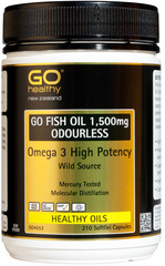 Go Healthy GO FISH OIL 1,500mg 210 capsules