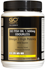 Go Healthy GO FISH OIL 1,500mg 420 capsules