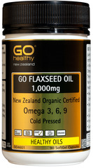 Go Healthy GO FLAXSEED OIL 1,000mg 90 caspules