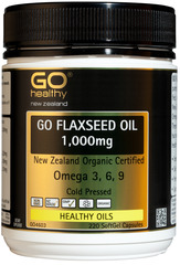 Go Healthy GO FLAXSEED OIL 1,000mg 220 caspules