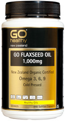 Go Healthy GO FLAXSEED OIL 1,000mg 440 caspules