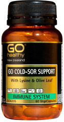 Go Healthy GO COLD-SOR SUPPORT 60 capsules