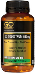 Go Healthy GO COLOSTRUM 550mg 120 capsules