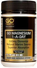 Go Healthy GO MAGNESIUM 1-A-DAY 120 capsules