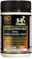 Go Healthy GO COLOSTRUM MILK 550mg 120 tablets