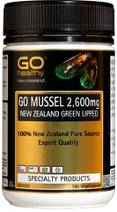 Go Healthy GO MUSSEL 2,600mg 180 capsules