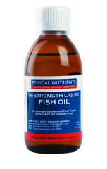 Ethical Nutrients Hi-Strength Liquid Fish Oil (Fruit Punch) 170 ml