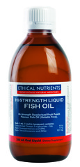 Ethical Nutrients Hi-Strength Liquid Fish Oil (Fruit Punch) 280 ml