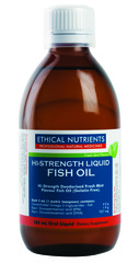 Ethical Nutrients Hi-Strength Liquid Fish Oil (Fresh Mint) 280 ml