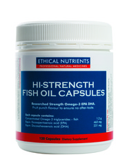 Ethical Nutrients Hi-Strength Fish Oil Capsules 120 Capsules