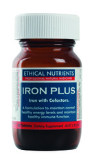 Ethical Nutrients Iron Plus 30 Tablets