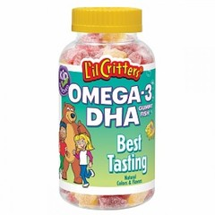 Lil Critters Omega-3 Gummy Fish 60 Gummy Fish