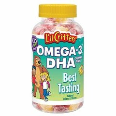 Lil Critters Omega-3 Gummy Fish 120 Gummy Fish