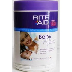 Rite Aid Baby Wipes 150's