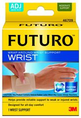 FUTURO ELASTIC WRAP AROUND WRIST SUPPORT