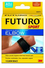 FUTURO TENNIS ELBOW SUPPORT TENDON PAD BLACK