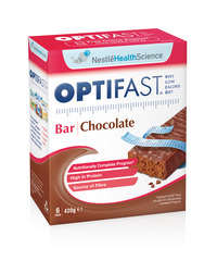 OPTIFAST VLCD BARS CHOCOLATE 6x70g