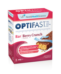 OPTIFAST VLCD BARS BERRY 6x60g