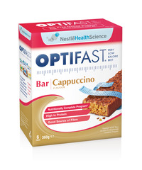 OPTIFAST VLCD BARS CAPPUCCINO 6x60g