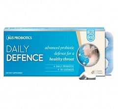 Blis Daily Defence with BLIS K12 - Vanilla 30 lozenges