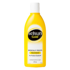 SELSUN TREATMENT SHAMPOO GOLD 375ml