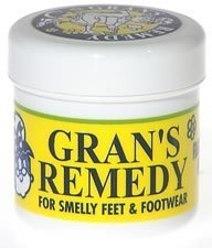 GRANS REMEDY FOOT POWDER ORIGINAL (UNSCENTED) 50g