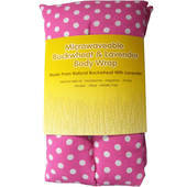 Rectangle Heat Pack - Pink Polka Dot