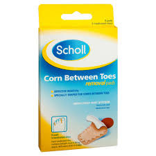 Scholl Corn Between Toes Removal Pads 9 pads